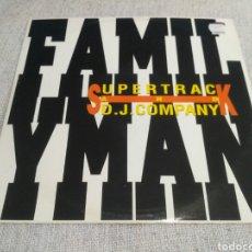 Discos de vinilo: SUPERTRACK & D.J. COMPANY - FAMILY MAN. Lote 194617746