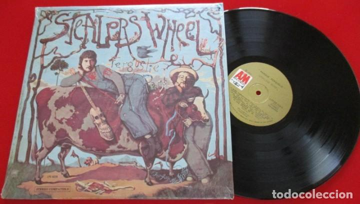 STEALERS WHEEL FERGUSLIE PARK VINILO ORIGINAL 1973 LP VENEZUELA GERRY RAFFERTY (Música - Discos de Vinilo - EPs - Pop - Rock Extranjero de los 70	)