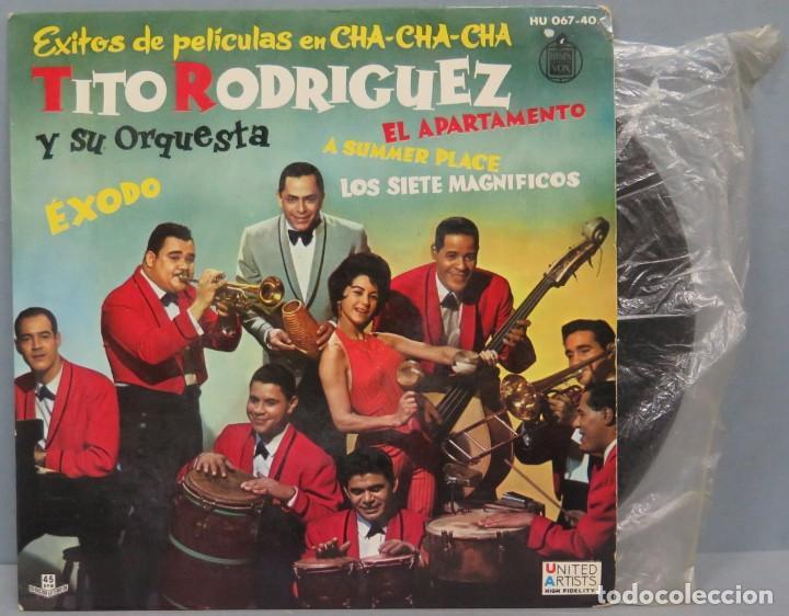 EP. TITO RODRIGUEZ. EXODO +3 (Música - Discos de Vinilo - EPs - Grupos y Solistas de latinoamérica)
