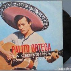 Discos de vinilo: SINGLE. PALITO ORTEGA. LA CHEVECHA. Lote 194618837