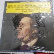 Discos de vinilo: RICHARD WAGNER-OBERTURAS Y PRELUDIOS-PRECINTADO. Lote 194619152