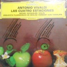 Discos de vinilo: ANTONIO VIVALDI-LAS CUATRO ESTACIONES-PRECINTADO. Lote 194619761