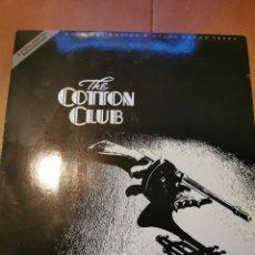 Discos de vinilo: DISCO VINILO THE COTTON CLUB BSO. Lote 194619856