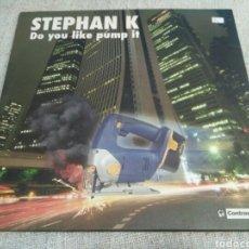 Discos de vinilo: STEPHAN K - DO YOU LIKE PUMP IT. Lote 194619936