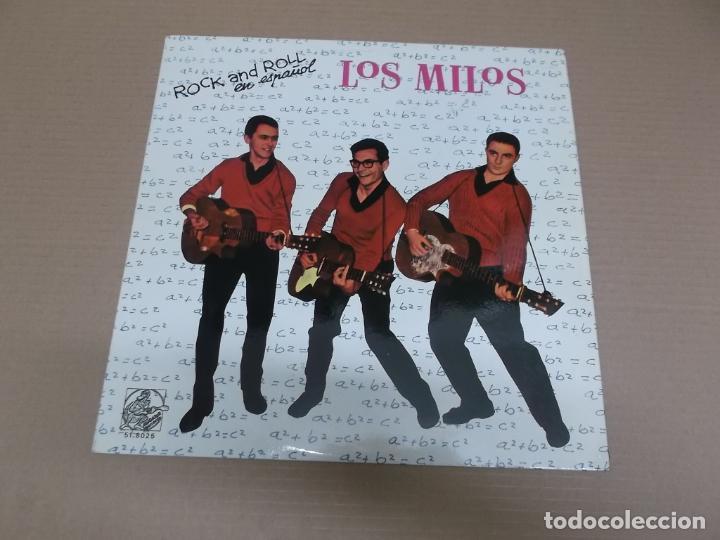 LOS MILOS (LP) HISTORIA DE LA MUSICA POP ESPAÑOLA AÑO – 1984 (Música - Discos - LP Vinilo - Grupos Españoles 50 y 60)