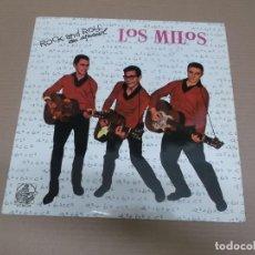 Discos de vinilo: LOS MILOS (LP) HISTORIA DE LA MUSICA POP ESPAÑOLA AÑO – 1984. Lote 194620158
