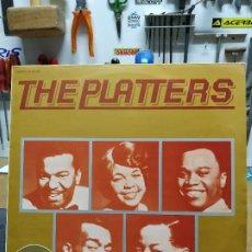 Discos de vinilo: THE PLATTERS DISCO DE ORO. Lote 194620458