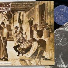 Discos de vinilo: EROS RAMAZZOTTI - EN CIERTOS MOMENTOS - LP CON INSERTO 1987 - HISPAVOX. Lote 194620610