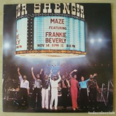Discos de vinilo: MAZE (FEATURING FRANKIE BEVERLY) : LIVE IN NEW ORLEANS - DOBLE LP ORIGINAL UK 1981 CAPITOL. Lote 194620658