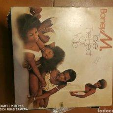 Discos de vinilo: DISCO VINILO BONEY M TAKE THE HEAT OFF ME. Lote 194621360