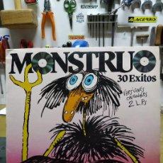 Discos de vinilo: MONSTRUO 30 EXITOS. Lote 194621431