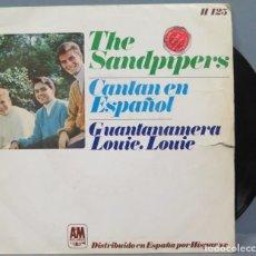 Discos de vinilo: THE SANDPIPERS. CANTAN EN ESPAÑOL. Lote 194621742