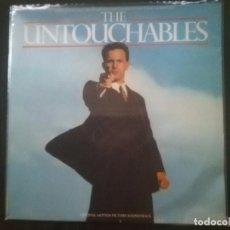 Discos de vinilo: ENNIO MORRICONE - THE UNTOUCHABLES . Lote 194622236