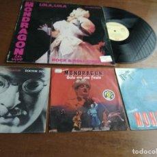 Discos de vinilo: LA ORQUESTA MONDRAGON- LOTE- UN MAXI SINGLE+ TRES SINGLES. Lote 194622638
