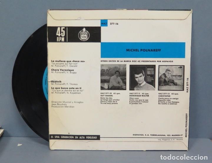 Discos de vinilo: EP. MICHEL POLNAREFF. LA MUÑECA QUE HACE NO + 3 - Foto 2 - 194622846