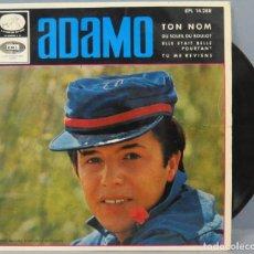 Discos de vinilo: EP. ADAMO. TON NOM. Lote 194622980
