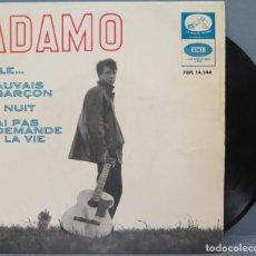 Discos de vinilo: EP. ADAMO. ELLE. Lote 194623053