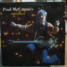 Discos de vinilo: PAUL MC CARTNEY BIRTHDAY. Lote 194623330