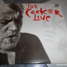 Discos de vinilo: JOE COCKER LIVE. Lote 194623498