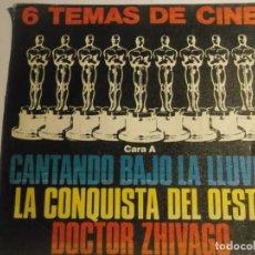Discos de vinilo: 6 TEMAS DE CINE-PROMOCIONAL. Lote 194623573