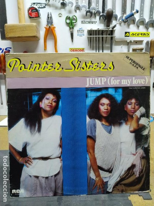 POINTER SISTERS JUMP (FOR MY LOVE) (Música - Discos de Vinilo - Maxi Singles - Disco y Dance)