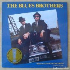 Discos de vinilo: THE BLUES BROTHERS (ORIGINAL SOUNDTRACK RECORDING) - LP ORIGINAL ESPAÑA 1980 ATLANTIC. Lote 194623803