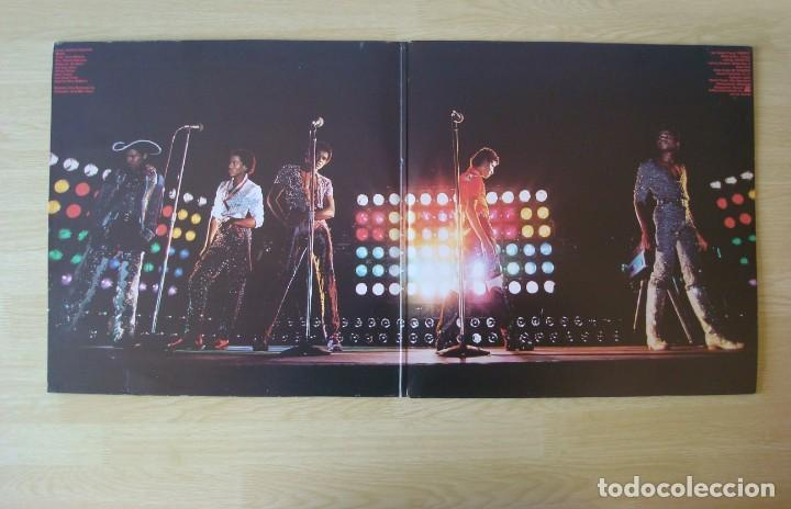 Discos de vinilo: THE JACKSONS : LIVE - DOBLE LP ORIGINAL ESPAÑA 1981 EPIC - MICHAEL JACKSON - Foto 2 - 194624055