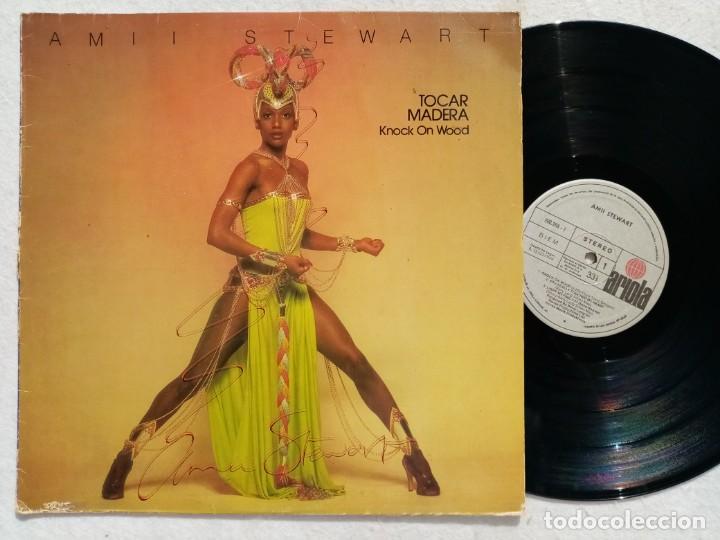 AMII STEWART - KNOCK ON WOOD (TOCAR MADERA) - LP 1979 - ARIOLA (Música - Discos - LP Vinilo - Funk, Soul y Black Music)