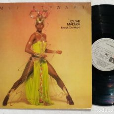 Discos de vinilo: AMII STEWART - KNOCK ON WOOD (TOCAR MADERA) - LP 1979 - ARIOLA. Lote 194624160