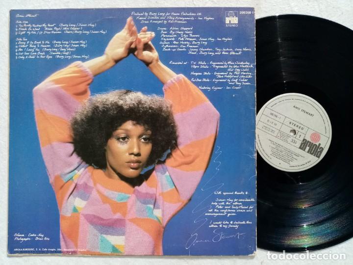 Discos de vinilo: AMII STEWART - knock on wood (tocar madera) - LP 1979 - ARIOLA - Foto 2 - 194624160