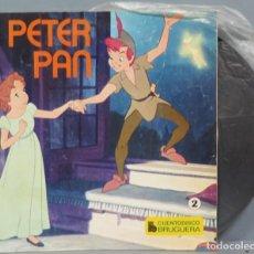 Discos de vinilo: PETER PAN. CUENTO DISCO BRUGUERA N° 2. Lote 194624257
