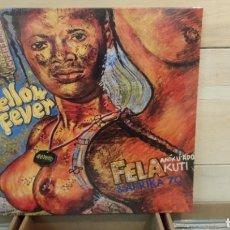 Discos de vinilo: FELA ANIKULAPO KUTI &AFRIKA 70–YELLOW FEVER . LP VINILO AFROBEAT. Lote 194624450