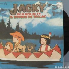Dischi in vinile: SINGLE. JACKY DE LA SERIE DE TV. EL BOSQUE DE TALLAC. Lote 194624556