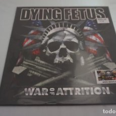 Discos de vinilo: (LP-NUEVO PRECINTADO) / DYING FETUS ‎– WAR OF ATTRITION. Lote 194624636