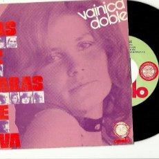 Discos de vinilo: VAINICA DOBLE. LAS 12 CARAS DE EVA (VINILO SINGLE 1971. Lote 194624721