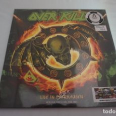 Discos de vinilo: (LP-NUEVO PRECINTADO) / OVERKILL ‎– LIVE IN OVERHAUSEN VOLUME TWO: FEEL THE FIRE. Lote 194624728