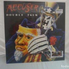 Discos de vinilo: (LP-NUEVO PRECINTADO) / ACCUSER – DOUBLE TALK. Lote 194624793