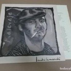 Discos de vinilo: MALEVAJE (LP) INCHILIMONCHI AÑO – 1989 – HOJA CON LETRAS. Lote 194624890
