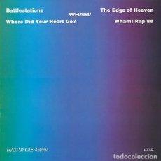 Discos de vinilo: WHAM! – BATTLESTATIONS - MAXI-SINGLE SPAIN 1986. Lote 194625213