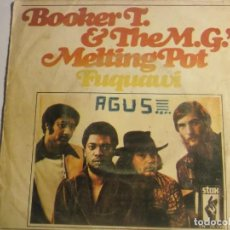 Discos de vinilo: BOOKER T. & THE MG´S-FUQUAWI. Lote 194626598