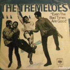 Discos de vinilo: THE TREMELOES-EVEN THE BAD TIMES ARE GOOD-ORIGINAL ESPAÑOL. Lote 194626712
