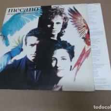 Discos de vinilo: MECANO (LP) DESCANSO DOMINICAL AÑO – 1988 – PORTADA DESPLEGABLE – HOJA CON LETRAS. Lote 194627510
