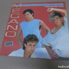 Discos de vinilo: MECANO (LP) HOY NO ME PUEDO LEVANTAR Y OTROS GRANDES EXITOS AÑO – 1986. Lote 194627587