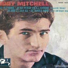 Discos de vinilo: EDDY MITCHELL - QUI JE T'AIME +3 - EP BARCLAY ESPAÑA 1963 // ¡RARO! ROCK & ROLL. Lote 194627693