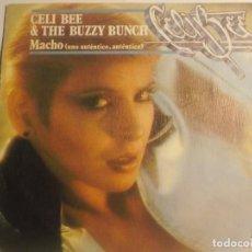 Discos de vinilo: CELI BEE & THE BUZZY BUNCH-MACHO. Lote 194627740