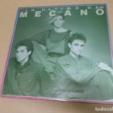 Discos de vinilo: MECANO (LP) LO ULTIMO DE MECANO AÑO – 1986. Lote 194627783