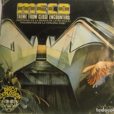 Discos de vinilo: MECO-THEME FROM CLOSE ENCOUNTERS. Lote 194627966