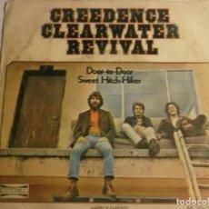 Discos de vinilo: CREEDENCE CLEARWATER REVIVAL-DOOR TO DOOR. Lote 194628242