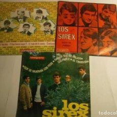 Discos de vinilo: LOTE DE 1 SINGLE Y 2 EPS DE LOS SIREX. Lote 194628308