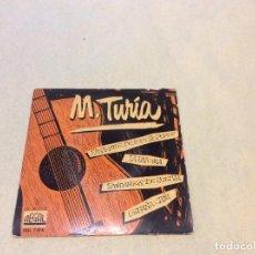 Discos de vinilo: M. TURIA - GUITARRA . Lote 194628703